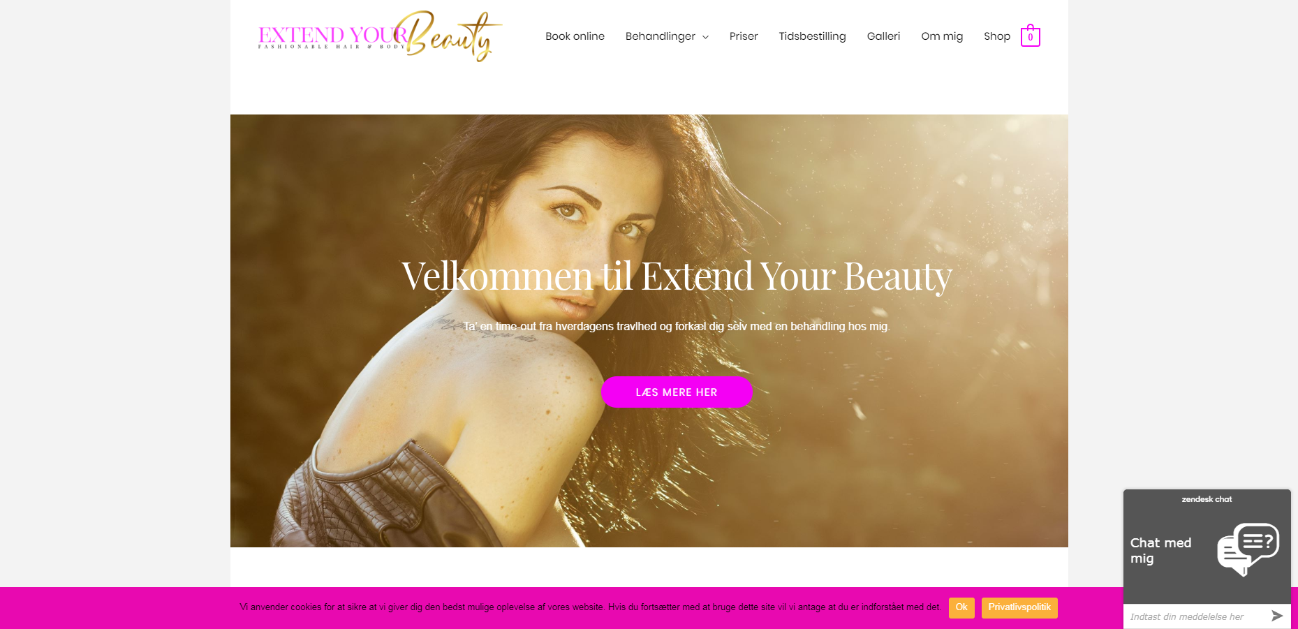 Detaljer : Extend Your Beauty